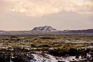 IJsland, bij vliegveld