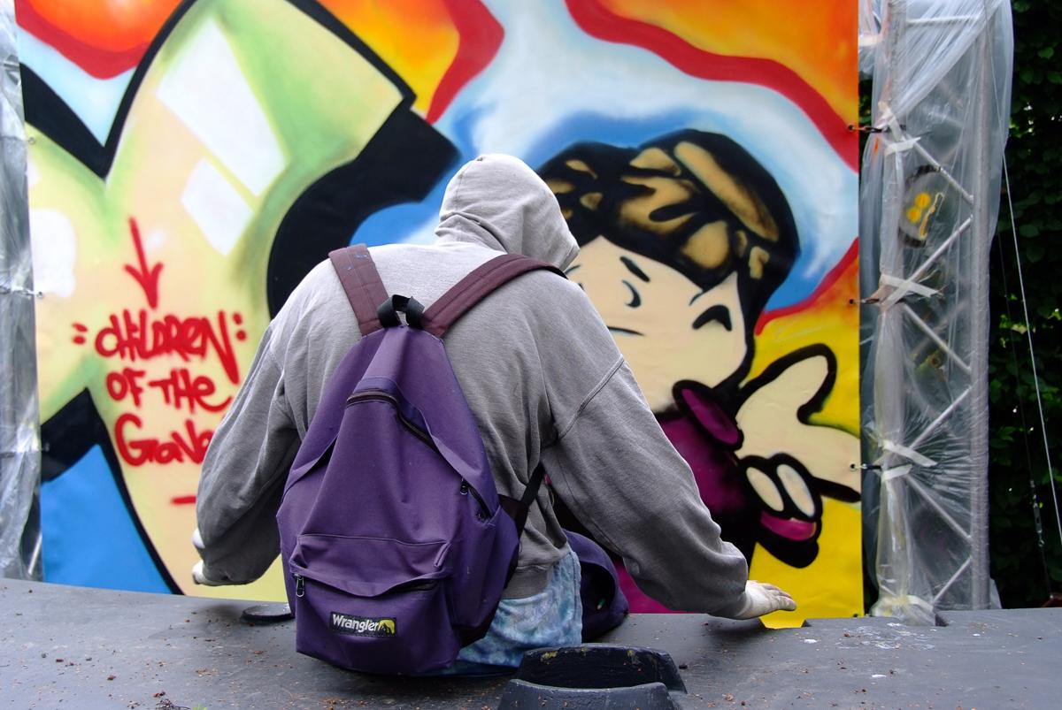 Graffity kunstenaar